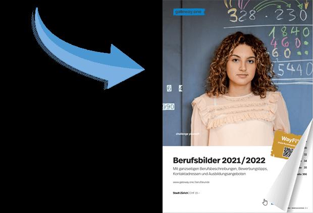 Berufsbilder 2021/2022 Cover